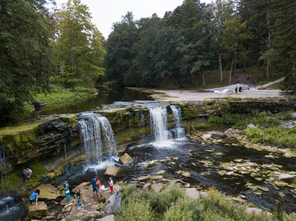 Keila-Joa Waterfall Estonia
