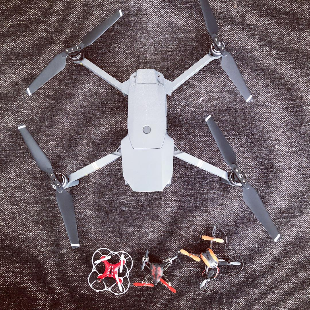 Mavic Pro and mini drones