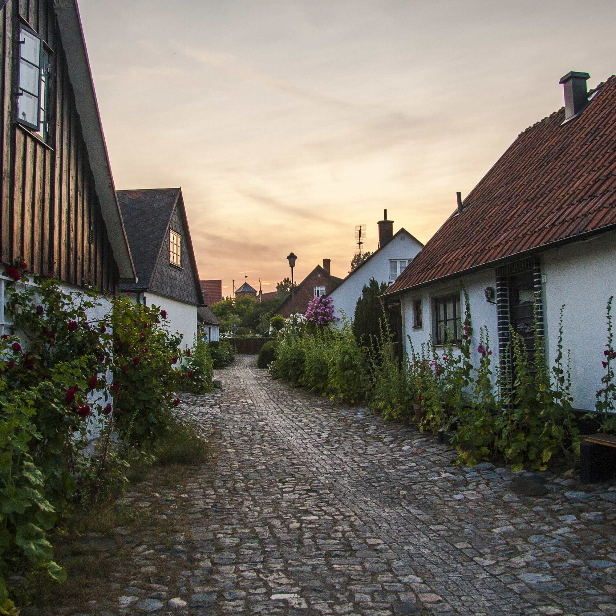 Town of Skillinge in Sk?ne, southern Sweden