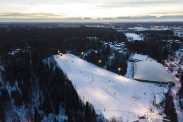 Kauniainen - ski slope