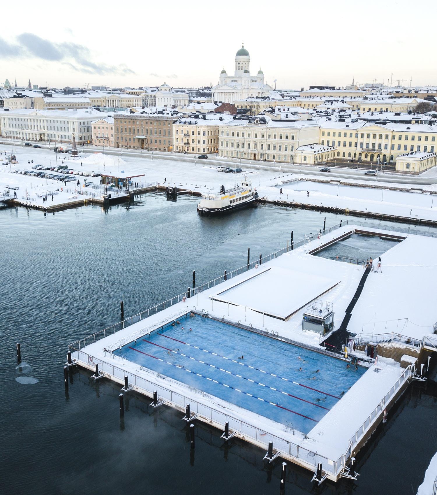 Allas Sea Pool in Helsinki
