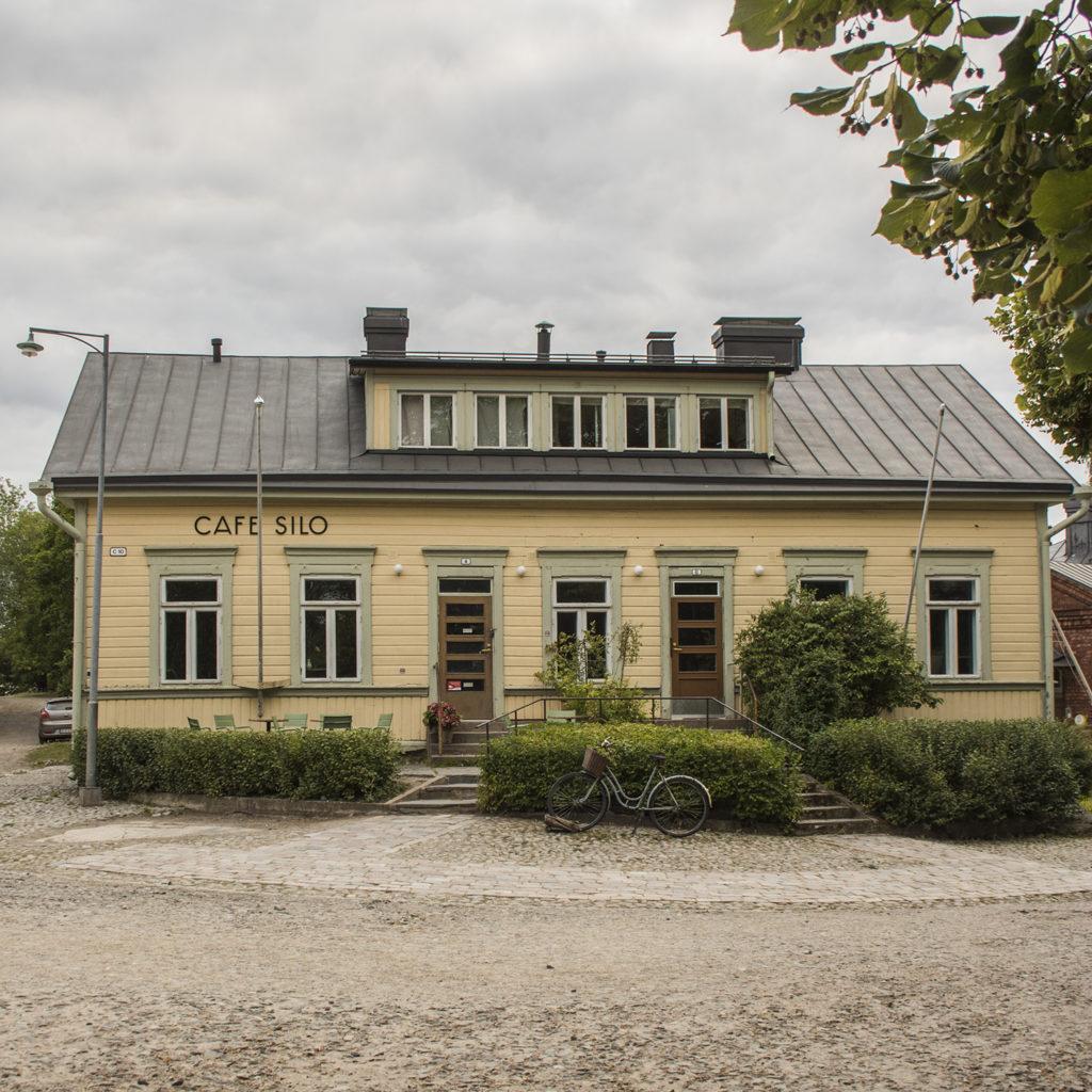 Building in Suomenlinna Sea Fortress in Helsinki